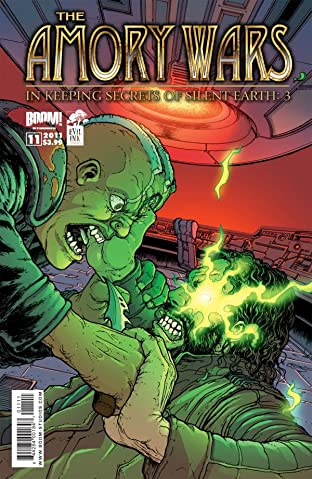 The Amory Wars: In Keeping Secrets of Silent Earth 3 #11 (of 12)