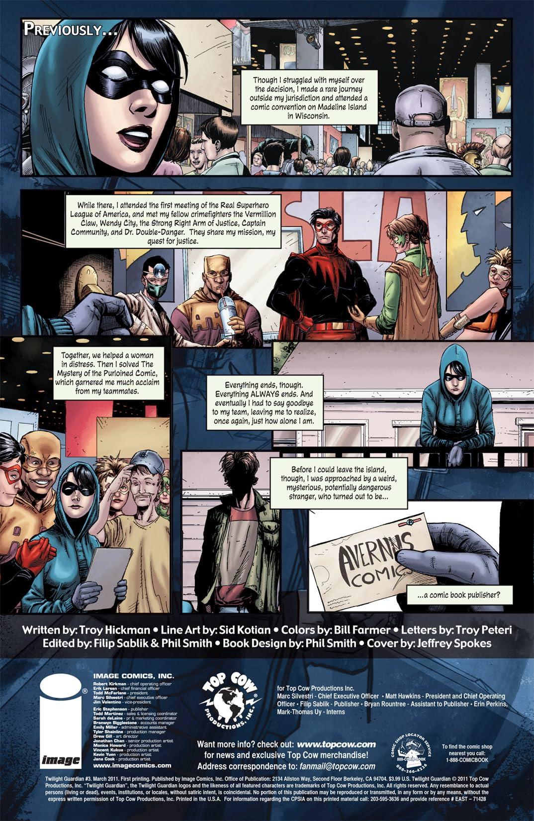 Twilight Guardian #3 (of 4)