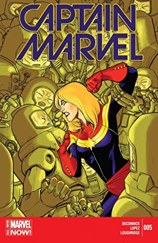 Captain Marvel (2014-2015) No.5