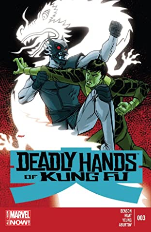 Deadly Hands of Kung Fu (2014) #3 (of 4)