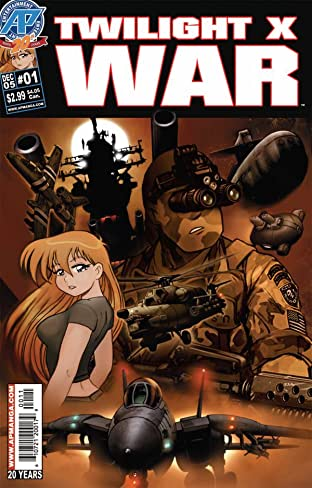 Twilight X War #1