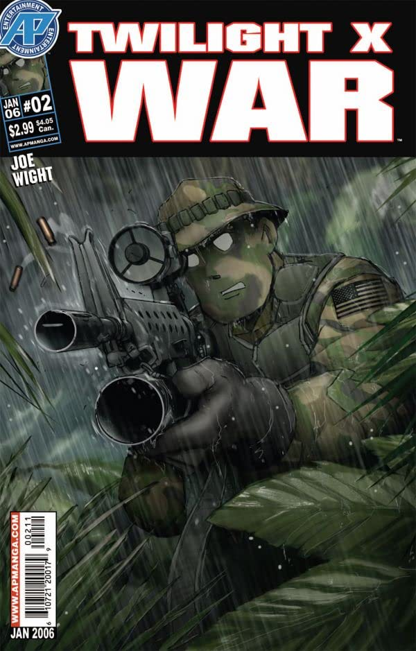 Twilight X War #2 (of 7)