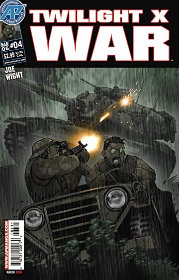 Twilight X War #4 (of 7)