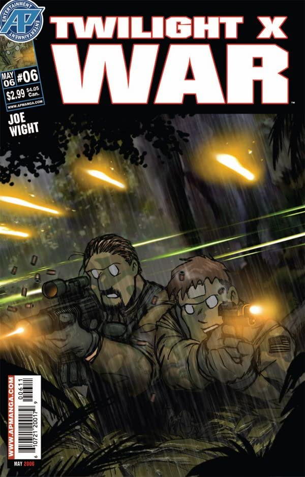Twilight X War #6 (of 7)
