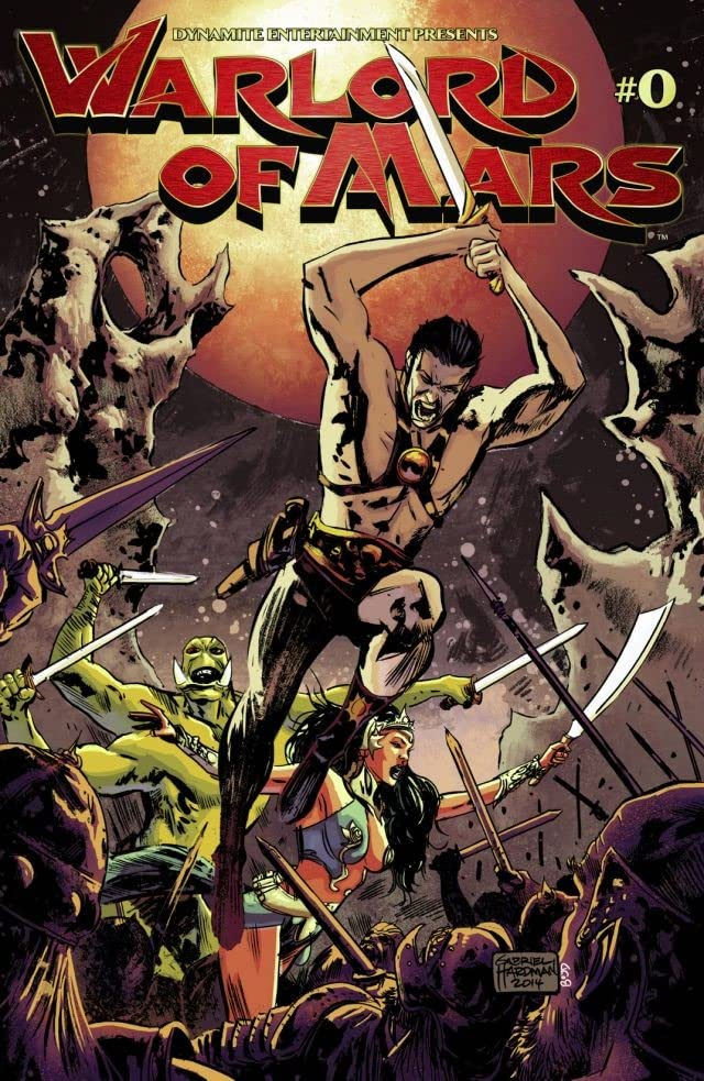 Warlord of Mars #0: Digital Exclusive Edition