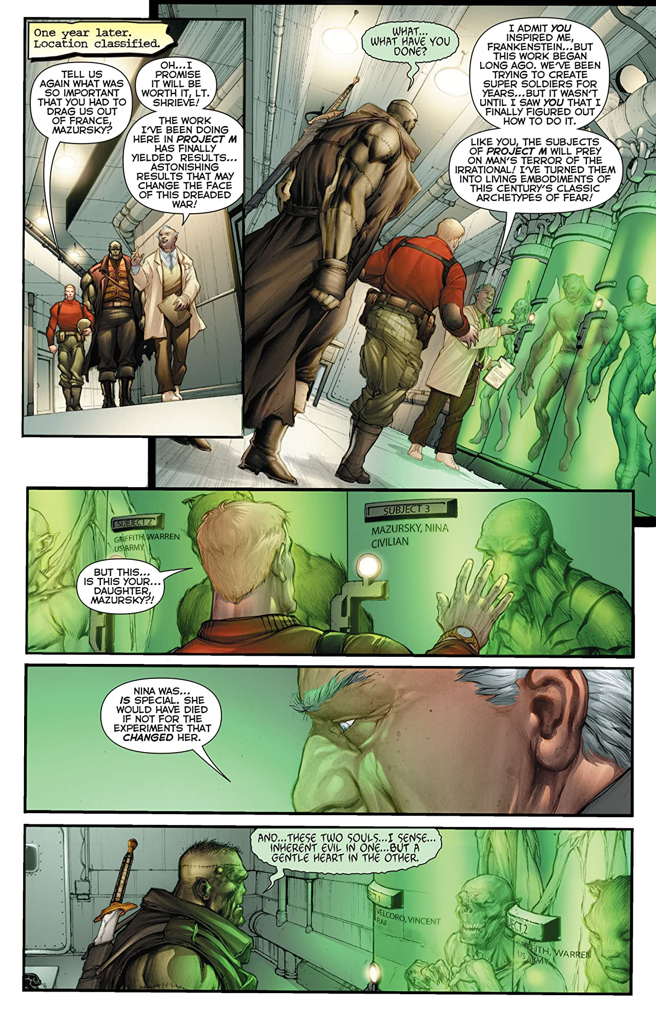 Flashpoint: Frankenstein and the Creatures of the Unknown #1 (of 3)