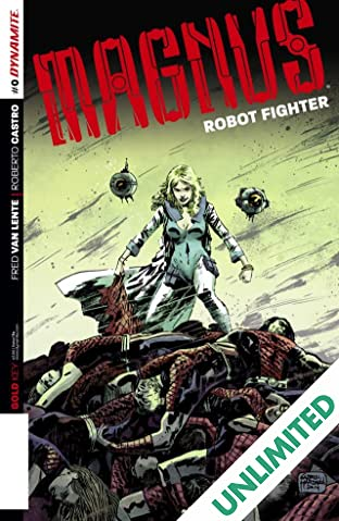 Magnus: Robot Fighter #0: Digital Exclusive Edition