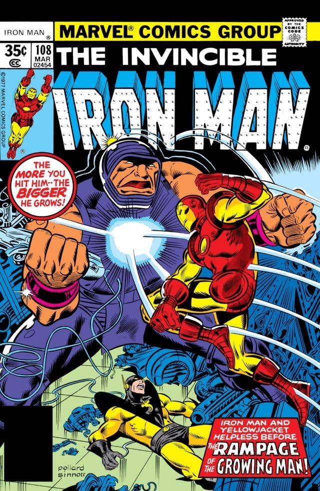 Iron Man (1968-1996) #108