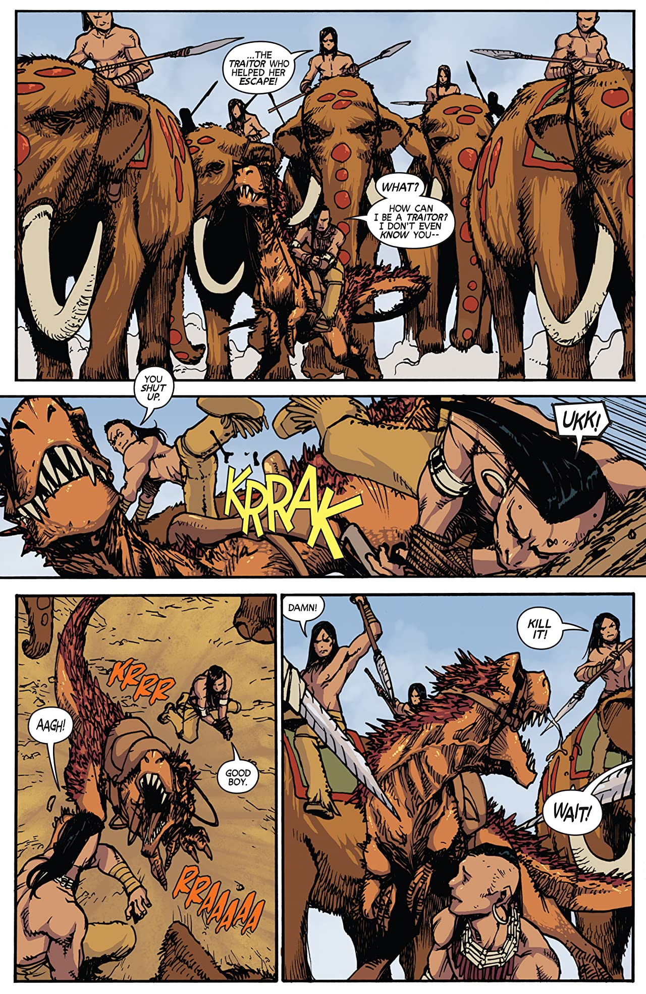 Turok: Dinosaur Hunter #6: Digital Exclusive Edition
