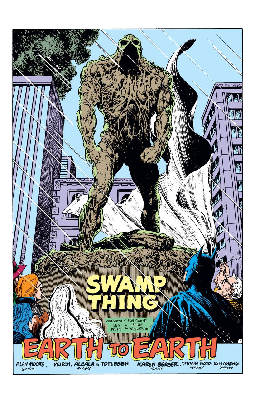 Swamp Thing (1982-1996) #55