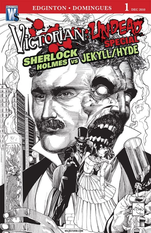 Victorian Undead Special: Sherlock Holmes vs. Jekyll and Hyde