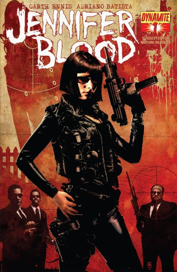 Garth Ennis' Jennifer Blood #1