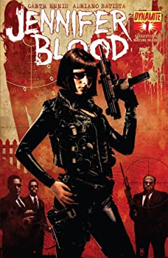 Garth Ennis' Jennifer Blood #1