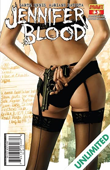 Garth Ennis' Jennifer Blood #3