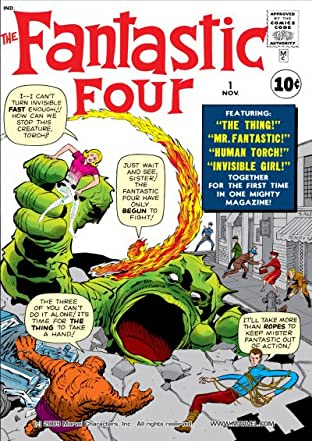 Fantastic Four (1961-1998) No.1