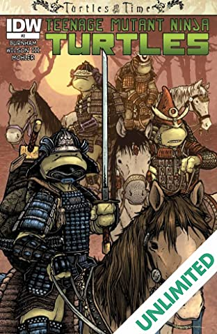 Teenage Mutant Ninja Turtles: Turtles in Time #2 (of 4)
