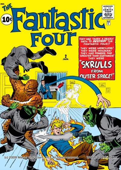 Fantastic Four (1961-1998) No.2