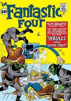 Fantastic Four (1961-1998) No.2
