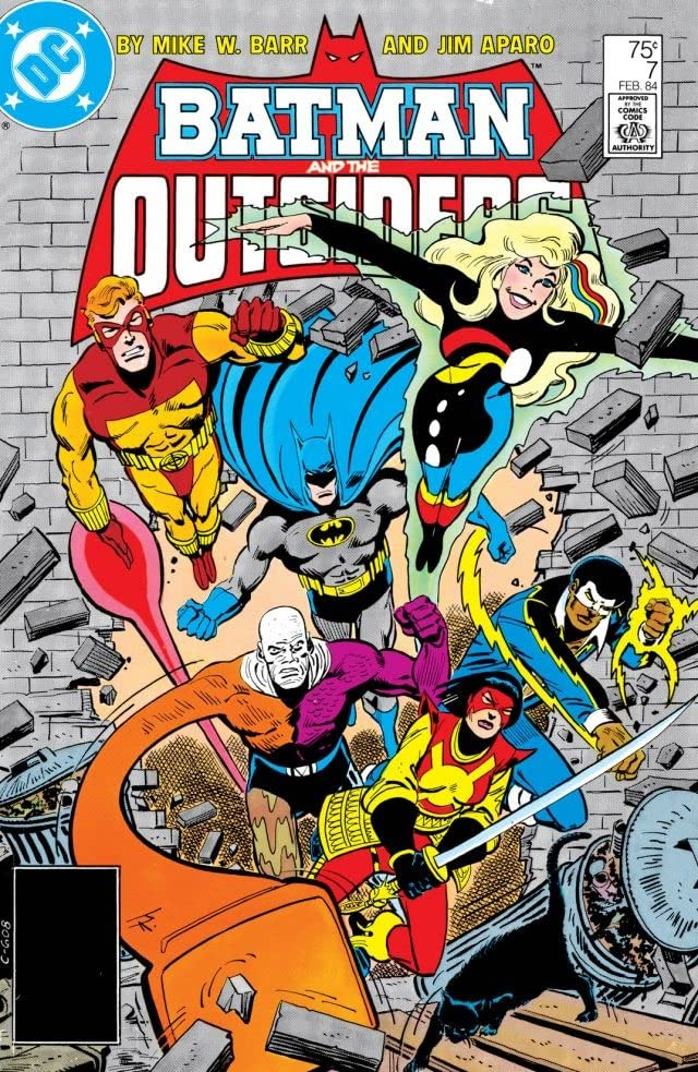 Batman and the Outsiders (1983-1987) #7