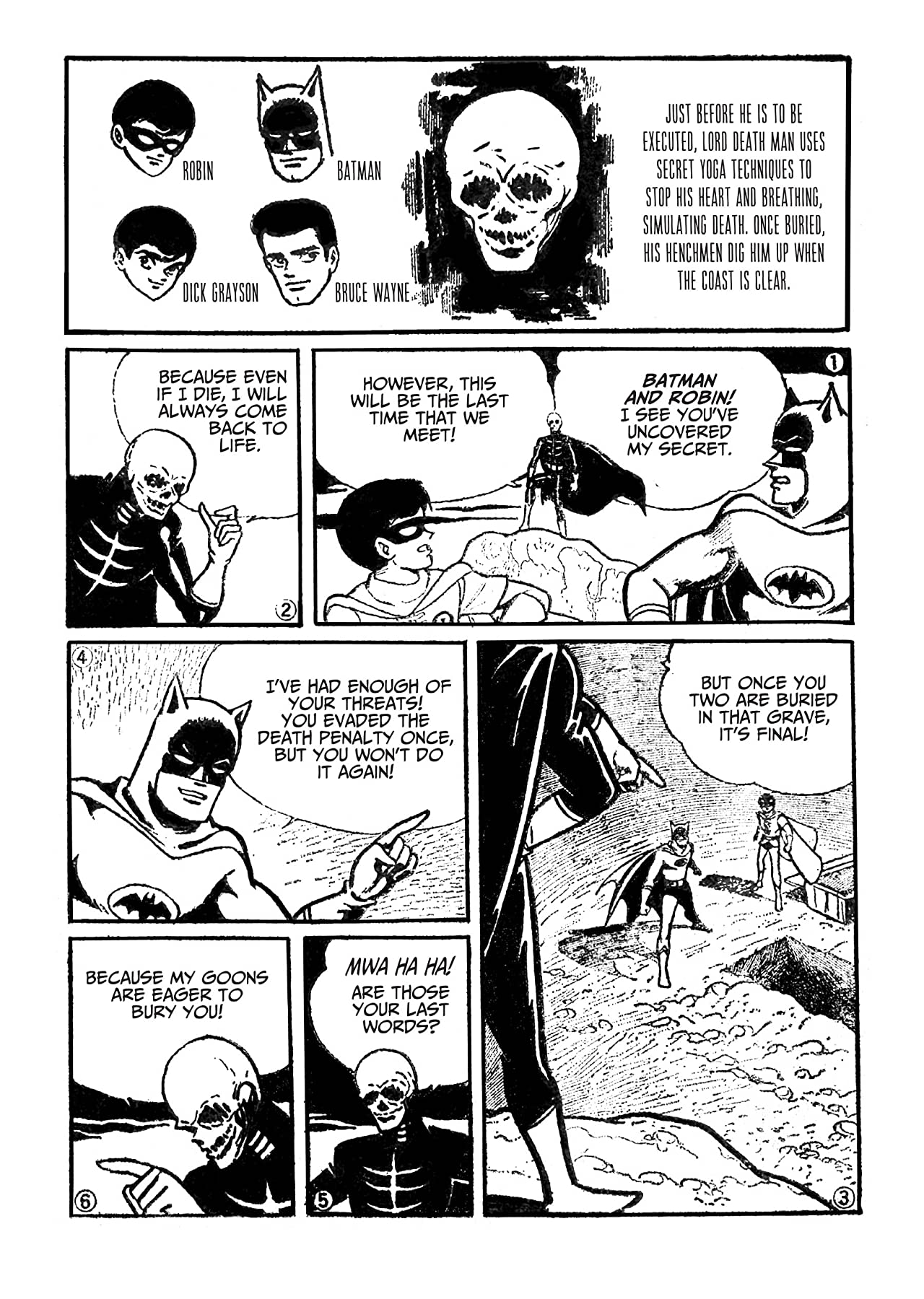 Batman: The Jiro Kuwata Batmanga #3