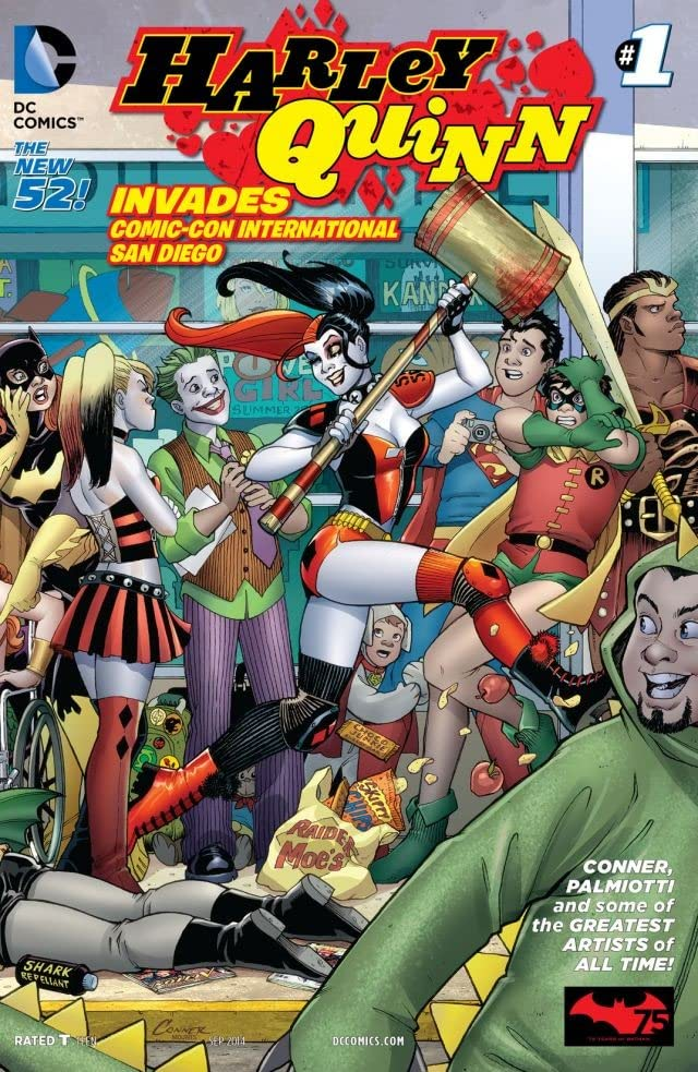 Harley Quinn Invades Comic-Con International: San Diego (2014) #1