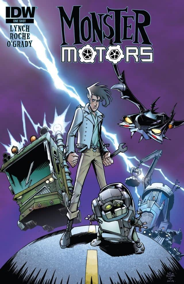 Monster Motors #1