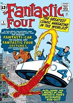 Fantastic Four (1961-1998) No.3