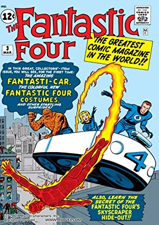 Fantastic Four (1961-1998) No.3