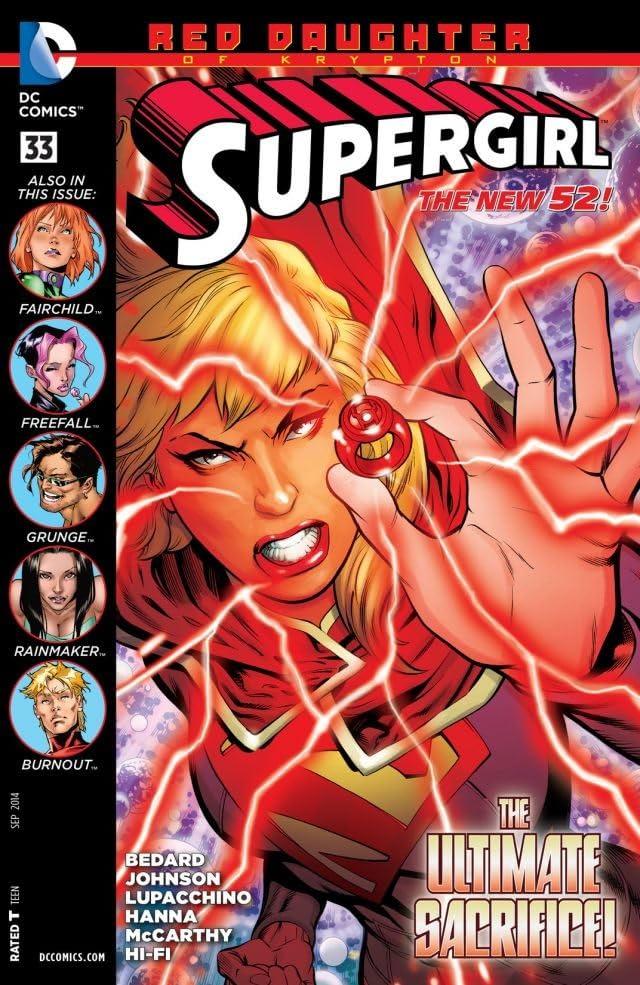 Supergirl (2011-2015) #33