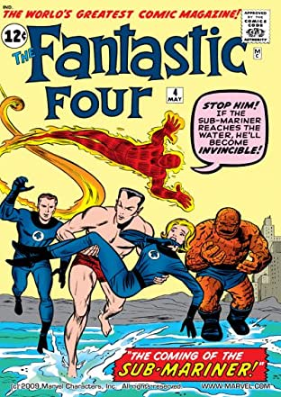 Fantastic Four (1961-1998) No.4