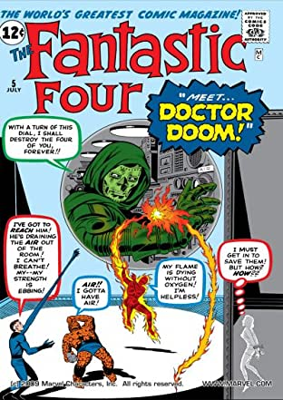 Fantastic Four (1961-1998) No.5