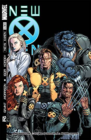 New X-Men (2001-2004) No.130