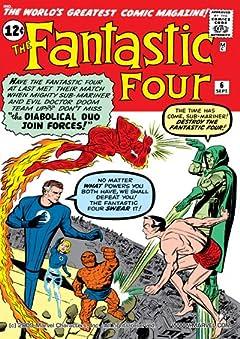Fantastic Four (1961-1998) No.6