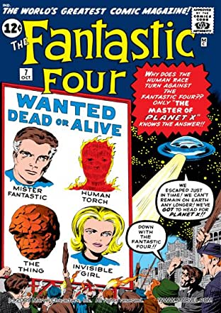 Fantastic Four (1961-1998) No.7