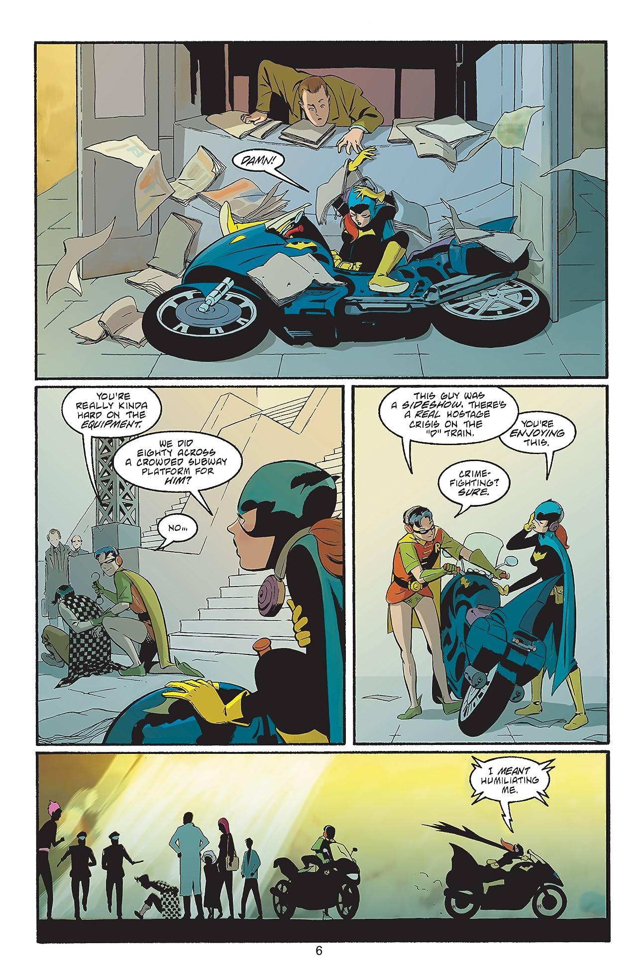 Batgirl: Year One #8