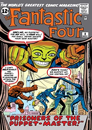 Fantastic Four (1961-1998) No.8