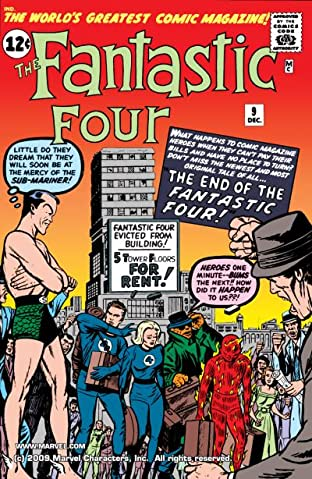Fantastic Four (1961-1998) No.9