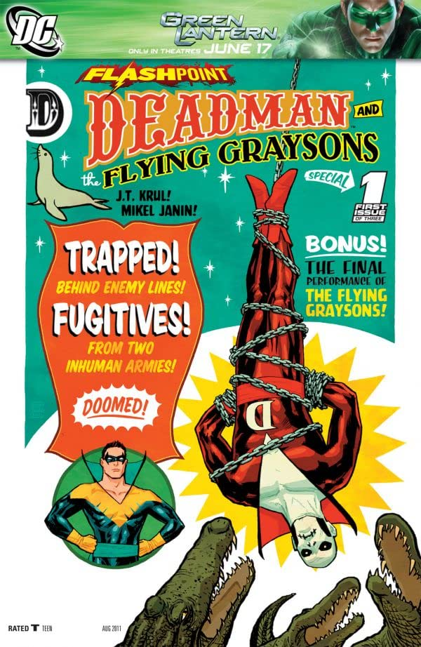 Flashpoint: Deadman and the Flying Graysons #1