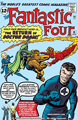 Fantastic Four (1961-1998) No.10