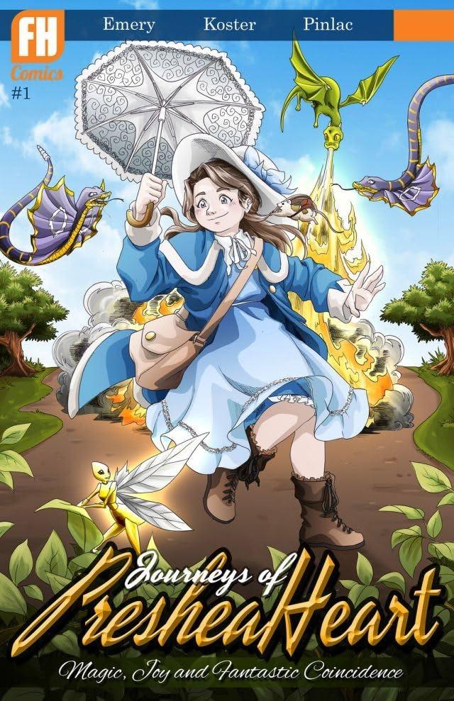 Journeys of Preshea Heart #1