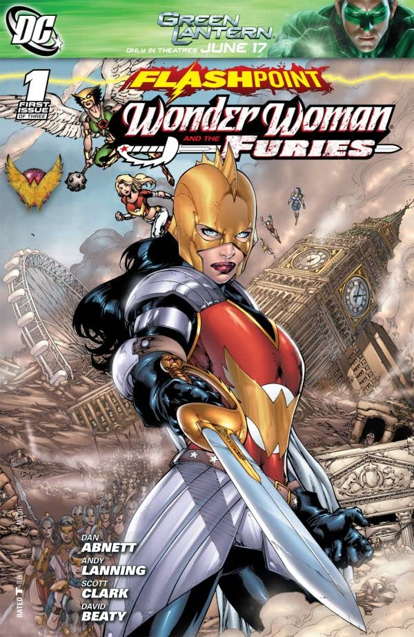 Flashpoint: Wonder Woman and the Furies #1