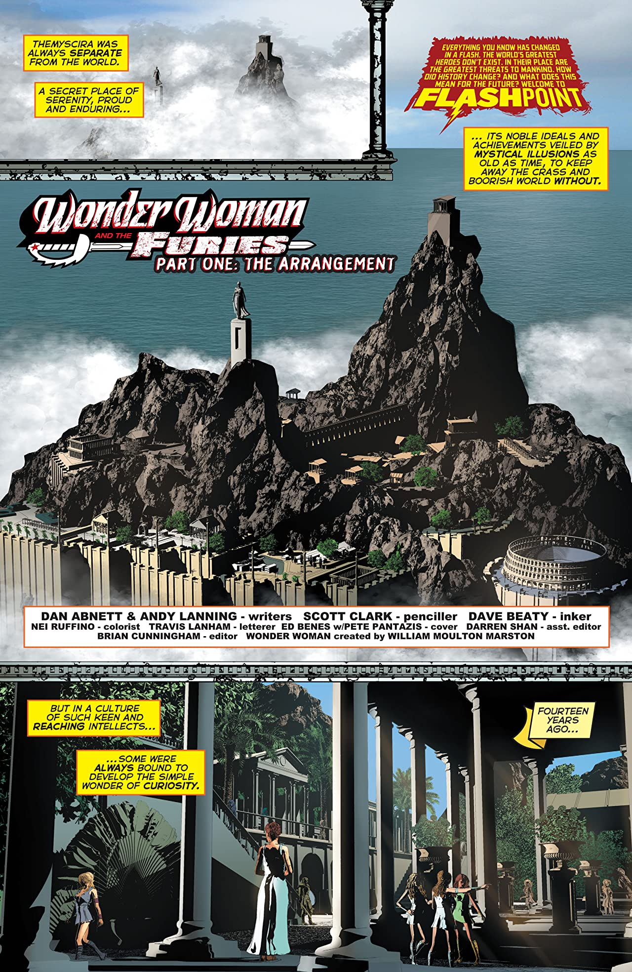 Flashpoint: Wonder Woman and the Furies #1 (of 3)