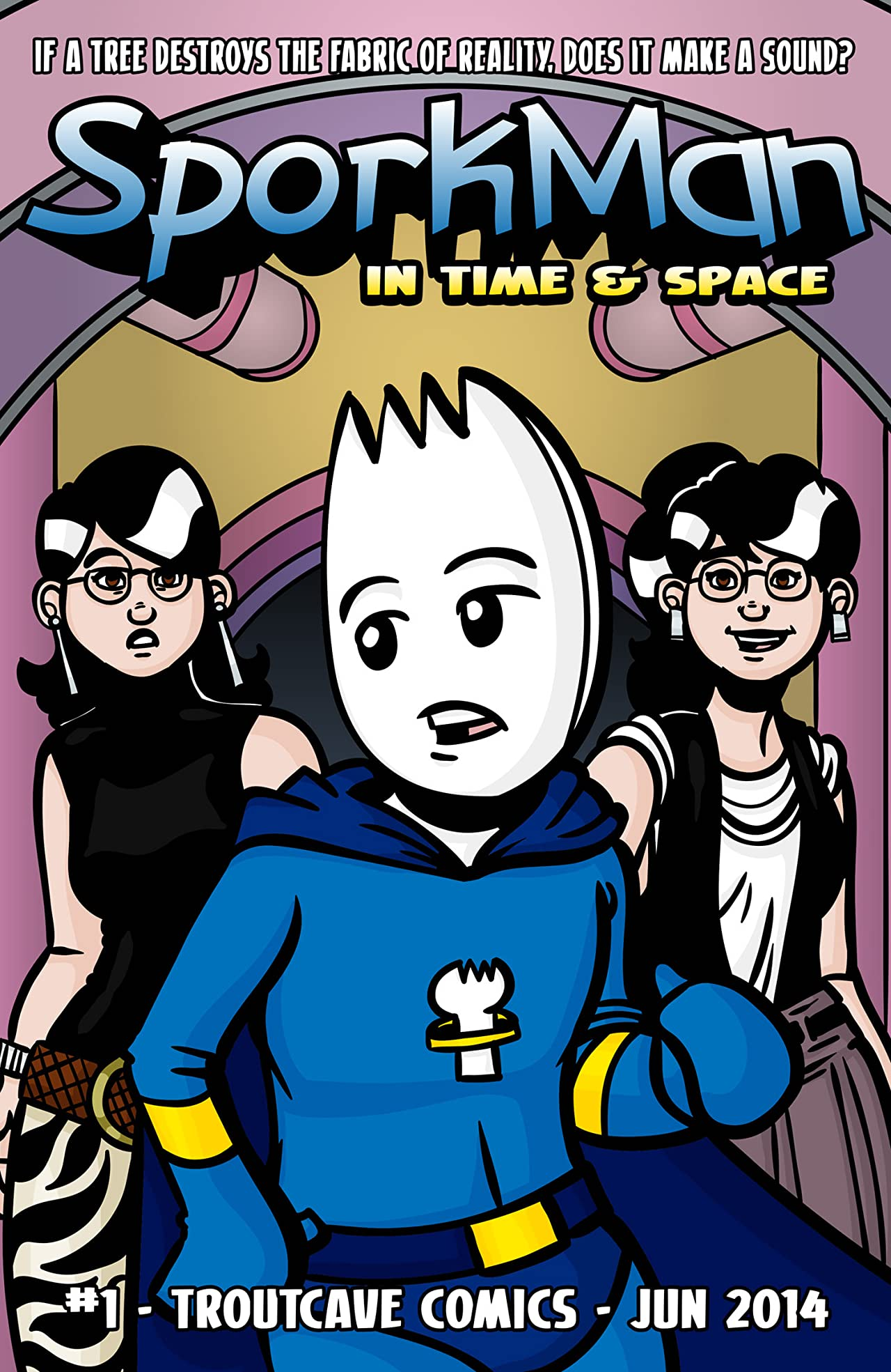 Sporkman In Time And Space #1