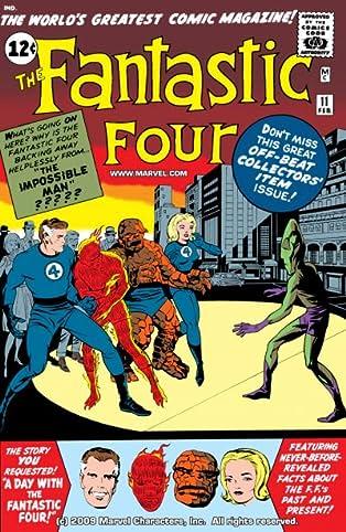 Fantastic Four (1961-1998) #11