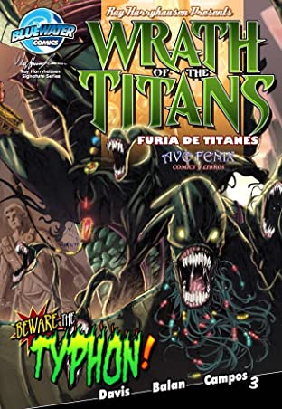 Wrath of the Titans: Spanish Edition #3