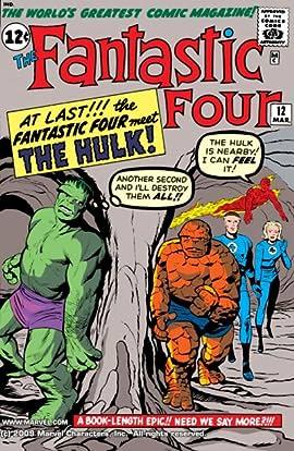Fantastic Four (1961-1998) #12