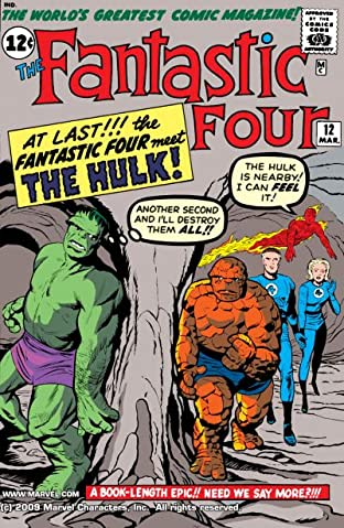 Fantastic Four (1961-1998) No.12