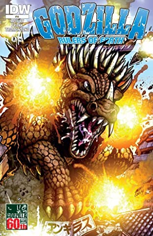 Godzilla: Rulers of Earth #14