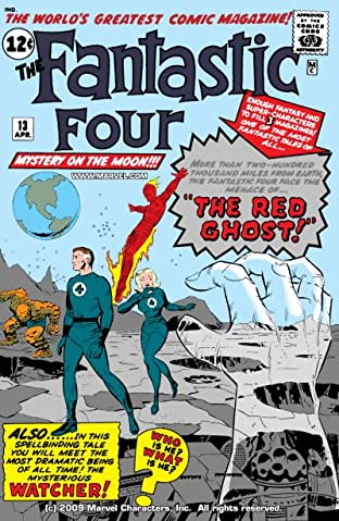 Fantastic Four (1961-1998) No.13