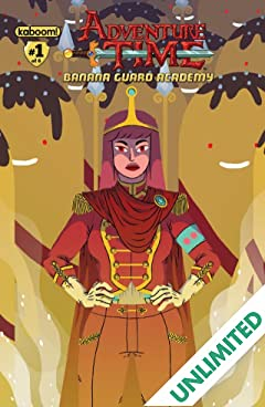Adventure Time: Banana Guard Academy #1